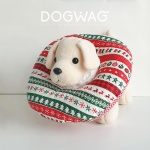 도그웨그 크리스마스 넥카라 천 고양이 깔대기