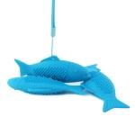 모아모아요 고양이 셀프칫솔 치석제거 물고기 장난감