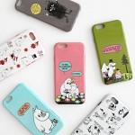 [무료배송] Moomin 아이폰 6 /6s 소프트케이스