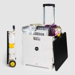 레토 접이식 폴딩 핸드 쇼핑 카트 LSC-F01 55L