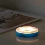 아이린 충전식 터치 무드등 블루,웜화이트 불빛