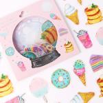 [금박] 달달한 디저트 요술램프 스티커팩
