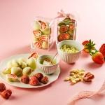 피나포레  눈꽃 딸기 수제 초콜릿 만들기 DIY 홈베이킹 쿠킹박스