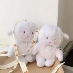에어팟 케이스 1/2 아기양 인형패브릭 실리콘/446염소