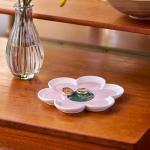 [올라카일리] 주얼리 액세서리 트레이 꽃잎 핑크
