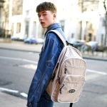 Funky Backpack 백팩 - Beige