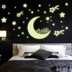 달나라 야광 3D 스티커