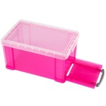 [Really Useful] 클리어박스14리터 (Litre) 투명핑크 [개/1] 302807