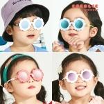 코코릭 유아동 자외선차단99.9% 편광미러 꽃선글라스