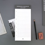 DESK WEEKLY SCHEDULER_SIDE (GRAY)