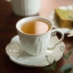 나비 골드라인 커피잔