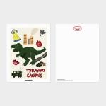 [카멜앤오아시스] Invasion Ⅰ 티라노 공룡 엽서
