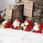 [2HOT] 크리스마스 미니 산타 4P SET