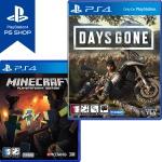 PS4 데이즈곤 DAYS GONE + 마인크래프트 (더블팩)