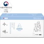 [자우버]수애 손소독티슈실속형 100매입(개별포장)