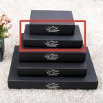 선물 포장 상자-블랙싸바리상자  직사각 깊은준중형 Box E3