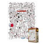 300피스 직소퍼즐 - 101 마리 달마시안 와글와글