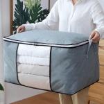대용량 이불정리함 부직포 옷패딩 가방 소품 정리박스