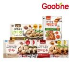 [굽네] 닭가슴살 만두 3종 6팩+메밀전병 세트