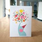 코끼리소리-다용도 축하카드
