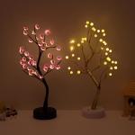LED 탁상용 나무 무드등