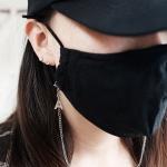 이니셜 마스크 스트랩 / 올 써지컬스틸 목걸이줄