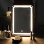 뷰티 스마트 화장대거울 조명 LED 원목거울