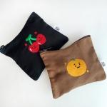 Cherry&Mandarin pouch