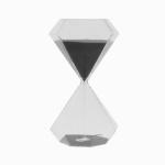 다이아타임 유리 모래시계(30분) (그레이)