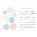 Miccudo 프린트-온 스티커 (16.Circle)