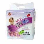 페리패드(초대형) 형광물질 없는고급패드 20매 - pb