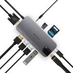 에드렛 TJ-10in1 멀티허브 C타입 맥북지원 HDMI 4K