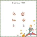 어린왕자 달빛어린왕자와 비행기귀걸이 OTE619602A
