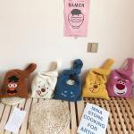 푸푸 캐릭터 뽀글이 숄더백 보조가방