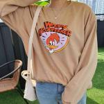 딱딱구리맨투맨 긴팔 티셔츠 가을 베이직룩