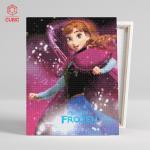 DIY 디즈니 보석십자수 겨울왕국 안나 40x50