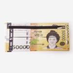 [인디고샵] 돈을 부르는 오만원 지갑