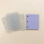 3공바인더 콜렉트북 다이어리 포카포켓 컬러내지 리필