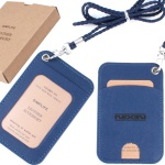 SIMPLIFE 심플라이프 목걸이카드지갑 (블루)