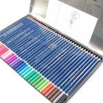 수채화 색연필 36색세트 문화연필 드로잉용 목색연필 KPI