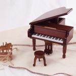 [일본산쿄] 원목그랜드피아노 오르골(B-526S)