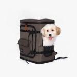 베럴즈 강아지 카시트 백팩 Dog Carseat Backpack (Khaki)