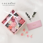 코코도르 카네이션 용돈 박스 + 쇼핑백 세트