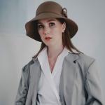 [에반스]Royal felt Hat 로얄 펠트모자_beige