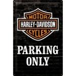 [24010] Harley-Davidson Parking Only
