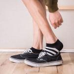 심플 남성 발목양말 (5개세트)