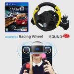 PS4 윈드포스레이싱휠+프로젝트 카스 2+사운드포디팩