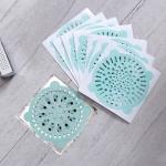 욕실 배수구 하수구 스티커 이물질 막힘방지 거름망필터