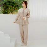 [쿠비카]러블리 이중 리본 투피스 여성잠옷 W689