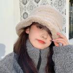 웰스 뽀글이 따뜻한 벙거지 방한모자